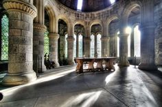 St. Conan's Kirk, Loch Awe, Scotland.  One of the most magical places I've ever been.  I always dreamed of getting married here...