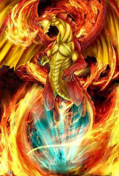 Igneel the king of fire dragons by gossj10