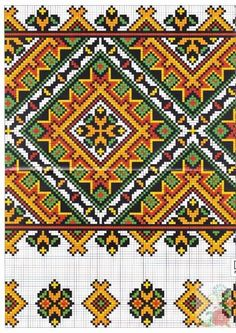 Cross stitching , Etamin and crafts: Traditional cross stitch Pattern Just Cross Stitch, Cross Stitch Borders, Cross Stitch Kits, Cross Stitch Charts, Cross Stitching, Cross Stitch Patterns, Towel Embroidery, Folk Embroidery, Cross Stitch Embroidery