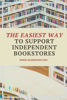 Why & How to Support Independent Bookstores Online
