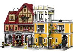 Build an incredible recreation of an Italian Villa! This is my second modular, after theMagic Shop, and I haven't tried to do an evolution, I've done a revolution. Total new...