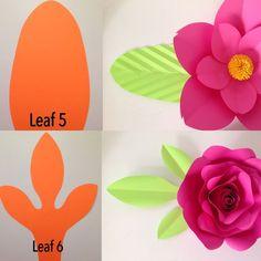 Flores Gigantes de Papel - DIY Decoração ⋆ De Frente Para O Mar