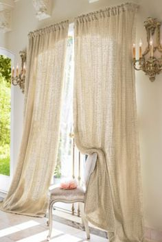curtains sumptuous vanilla cream creme puddling drape draperies sunlight soft ambient sheer cottage yum yum cappuccino graceful
