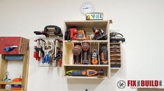 Picture of Organize Your Shop with French Cleat Tool Storage