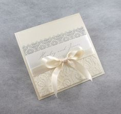 Love lace? We have a range of stunning laces to apply to your wedding stationery!