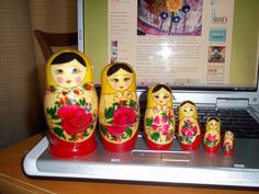stackable Russian Dolls