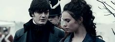 Darcy and Elizabeth. Pride and Prejudice and Zombies (2016)