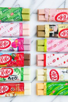 We Try all the weird Japanese Kit Kat Flavors so you don't have to!