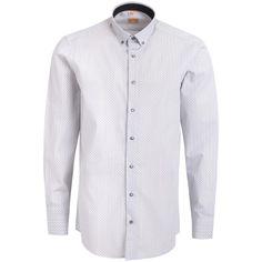 """Ανδρικό Πουκάμισο """"Sermak Energy"""" Redmond 100% Βαμβάκι Blue Cotton Shirts For Men, Shirt Dress, Easy, Mens Tops, Collection, Dresses, Fashion, Vestidos, Moda"""