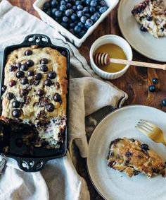 Whip up a loaf of blueberry banana bread for brunch!
