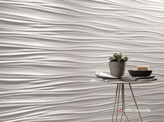 Find out all of the information about the Atlas Concorde product: indoor tile / wall / ceramic / cm WALL DESIGN : RIBBON WHITE & SAND. 3d Wall Tiles, Decorative Wall Tiles, Ceramic Wall Tiles, Cladding Design, Wall Cladding, Concorde, Palette Wall, Tiles Texture, Interior Design Magazine