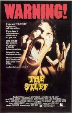 The Stuff Movie Poster Puzzle Fun-Size 120 pcs