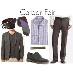 Dress for the Job You Want: (Career Fair Style: Part II) - Style Girlfriend Professional Wardrobe, Professional Dresses, Work Wardrobe, Fair Outfits, Casual Outfits, Casual Attire, Career Fair Tips, Career Advice, Interview Attire