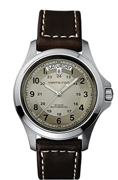 Hamilton Khaki Field King Automatic Beige Dial Mens Watch H64455523 https://www.carrywatches.com/product/hamilton-khaki-field-king-automatic-beige-dial-mens-watch-h64455523/  #automaticwatch #hamilton #hamiltonwatch #hamiltonwatches #menswatches #women -