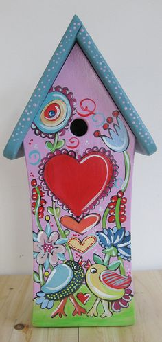 Hey, I found this really awesome Etsy listing at https://www.etsy.com/listing/120149007/birdhouse-birdhouse-bird-house-flower