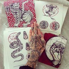 Tattoo sketches by Hannah Pixie Snowdon Hannah Snowdon Tattoo, Hannah Pixie Snowdon, Sketch Tattoo Design, Tattoo Sketches, Tattoo Designs, Life Tattoos, Cool Tattoos, Pixie Tattoo, Tattoo Parlors