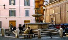 Fontana di Piazza della Madonna dei Monti, Rome