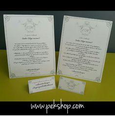 Kişiye Özel Düğün Menüleri Masa Numaraları Size Özel Üretim İçin  www.pekshop.com