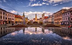 Popular on 500px : Reflecting Evening by TomHrozensk