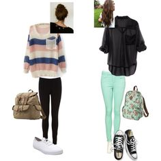 """""""School"""" by eleanor-calder-inspired on Polyvore"""