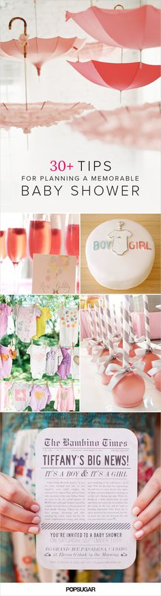 Whether you're looking for creative, sophisticated shower, baby shower games or simple ways to dress up your sweets, get inspired by checking out these 36 tips and tricks to make your baby shower special for both you and your guests. Happy showers!