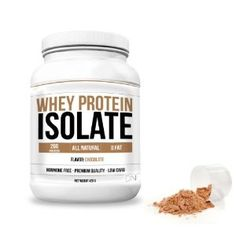 Daily Nutrition Whey Protein Isolate - Post Workout - Great Tasting Chocolate Flavor by Daily Nutrition Be the first to review this item List Price: $59.93 Price: $39.99 You Save: $19.94 (33%) Great Tasting - Premium Quality - Low Carb Take after working out Builds and Repairs Muscles Easy to mix - 1 scoop - 26G Protein per serving Protein Energy, Whey Protein Isolate, Vanilla Flavoring, Chocolate Flavors, Post Workout, Vitamins, Low Carb, Nutrition, Eat