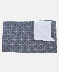 Grey and White Origami Throw by Mika Barr Resident GP Homewares & Gifts