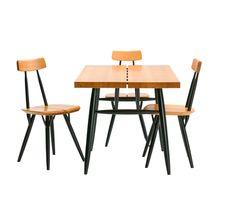 'Pirkka' chairs and table by Ilmari Tapiovaara for Artek, 1955