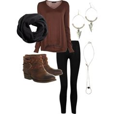 Comfy and Casual Fall Fashion. #boots