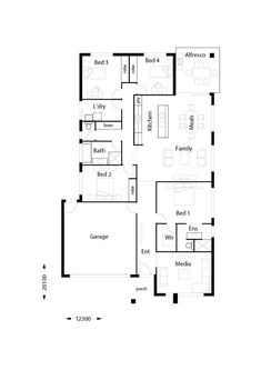 Edge 220 - Hallmark Homes Beautiful House Plans, Dream House Plans, Build Your Own House, Build Your Dream Home, First Home Owners, Different Types Of Houses, Double Storey House, Interior Design Classes, Hallmark Homes