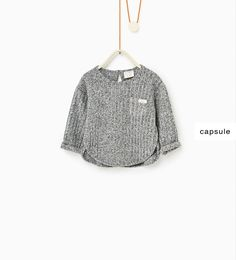 Ribbed top-NEW IN-BABY GIRL | 3 months-3 years-KIDS | ZARA United States