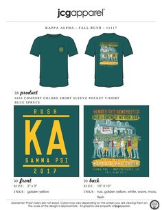 JCG Apparel : Custom Printed Apparel : Kappa Alpha Rush T-Shirt #kappaalpha #ka #rush #recruitment #sandlot #handdrawn #heroesgetremembered #legendsneverdie #yourekillinmesmalls
