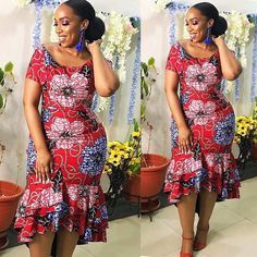 Most stylish collection of ankara short gown styles of 2019 trending today, try these short ankara gown styles Latest Ankara Short Gown, Ankara Short Gown Styles, Trendy Ankara Styles, Short Gowns, Ankara Gowns, Ankara Skirt, African Fashion Ankara, African Print Fashion, Africa Fashion