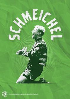 Ex Manchester United keeper Manchester United Poster, Manchester United Legends, Manchester United Football, Best Football Team, Football Art, World Football, Peter Schmeichel, Premier League Champions, Idole