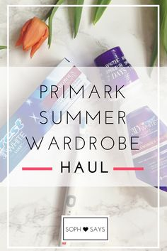 I've seen so many blogs and Instagram posts about some lovely Primark pieces recently, so seeing as June is an expensive month, a trip to Primark was needed to get my wardrobe looking a little brighter.  So here's what I bought in my Primark summer wardrobe haul...  #primark #fashion#summer #wardrobe #summerwardrobe #fashion #budgetfashion #summerhaul #fashionhaul