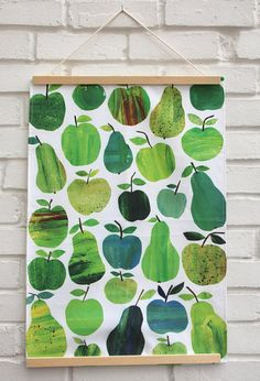 100% cotton tea towel, printed and made in the U.K.  40 degree wash cycle.  Hemmed on all four sides  Approx 45cm x 68cm  The design originates from my hand coloured tissue paper collages.  All my images are copyright Tracey English  Colours may vary slightly from the images shown in the photographs.  Each tea towel comes with a post card and is packed inside a polyprolene bag