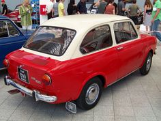 1968 Fiat 850 Super Berlina Fiat 850, Cool Bugs, Cute Cars, Cars And Motorcycles, Classic Cars, Vehicles, Pond, American, Sweet