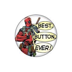 Deadpool Best Button Ever