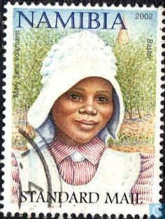 Postage Stamps - Namibia - Local population, Women