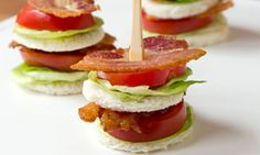 Tea Sandwich: Bacon, Lettuce, & Tomato — Oh, How Civilized