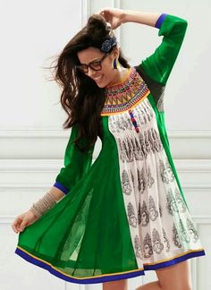 Kurti!! On another note, why are none of these models wearing pants ?!?