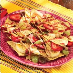 Knott's Strawberry Patch Nachos Recipe