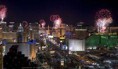Fogos de artifício em Las Vegas - Foto: Divulgaçáo