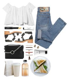 """""""Stone cold fox"""" by sophiehackett ❤ liked on Polyvore featuring Stone_Cold_Fox, Cheap Monday, McQ by Alexander McQueen, Forever 21, Topshop, Bobbi Brown Cosmetics, V76 by Vaughn and NARS Cosmetics"""