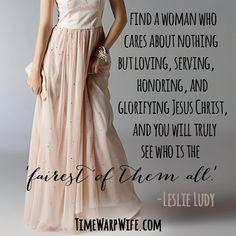 A Woman of God.