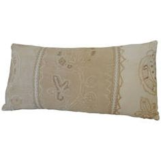 Antique Textile Turkish Bolster Pillow