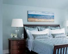 beach themed bedroom- must have