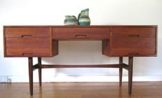Retro Vintage Rare Hans Hayson Teak Sideboard Dresser Hall Console Table in Malvern East, VIC   eBay