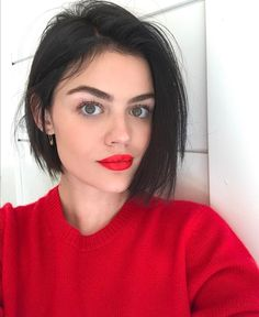 """877.7k Likes, 2,910 Comments - Lucy Hale (@lucyhale) on Instagram: """"Christmas face """""""