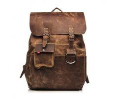 Oliberté KRABU #leatherbackpack Rustic Brown Pullup